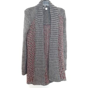 Moth | Anthropologie Open front Knit cardigan